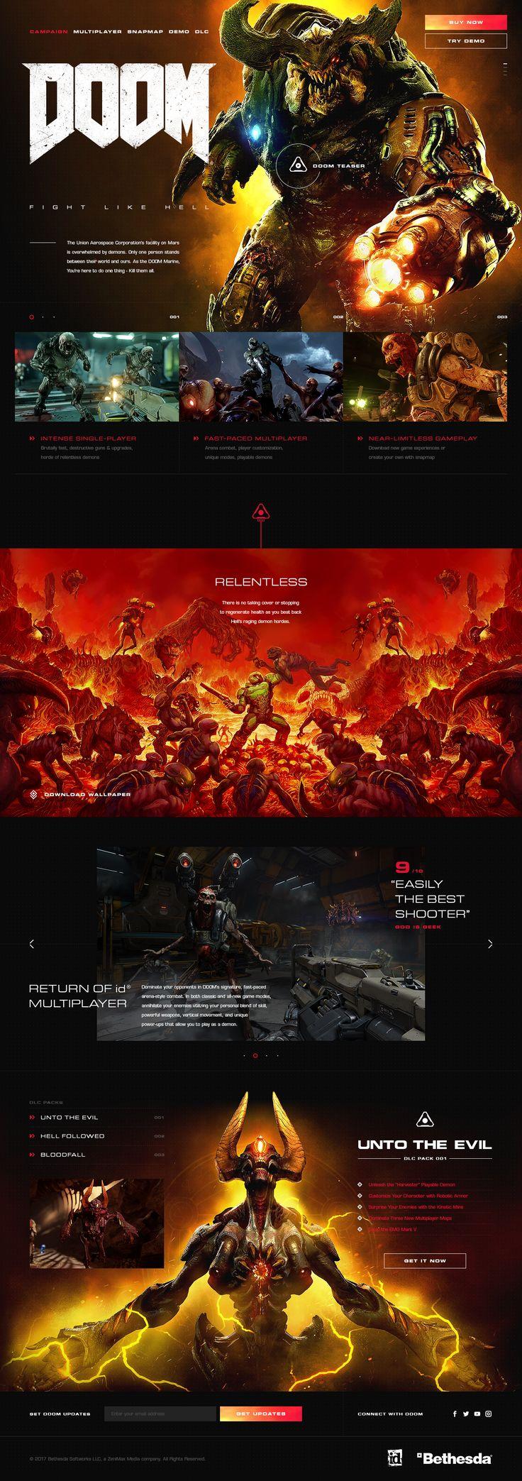 Doom website full hellowiktor