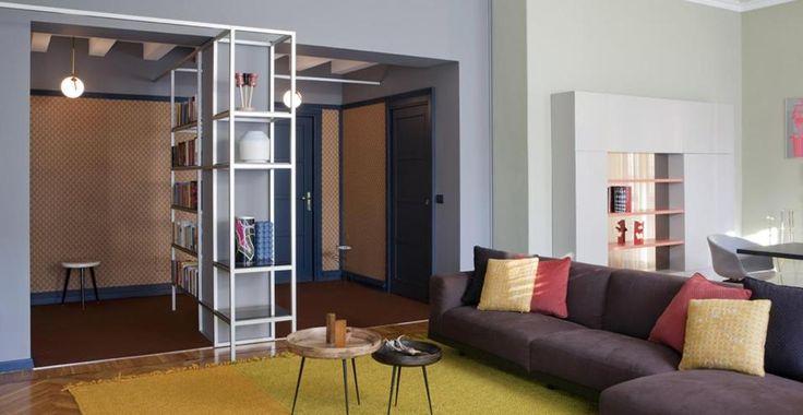 Lo studio UdA ristruttura un appartamento nel centro storico giocando tra citazioni colte e guizzi contemporanei