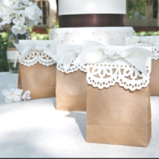 Shabby Chic Wedding Favors Easy To Make Colored Bags Would Look Adorable Too Day Pinterest Gifts And