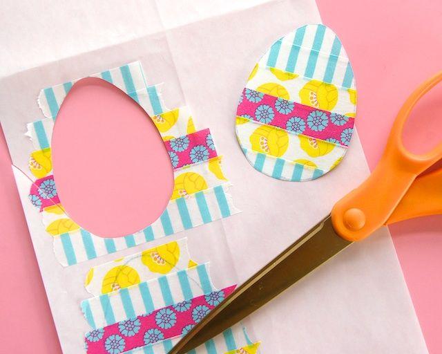 egg washi tape idea