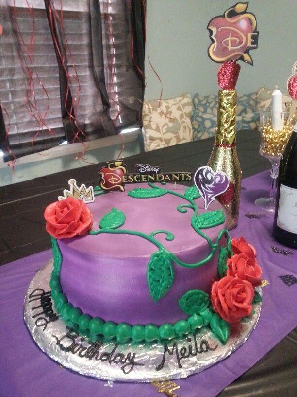 My daughter's descendants cake