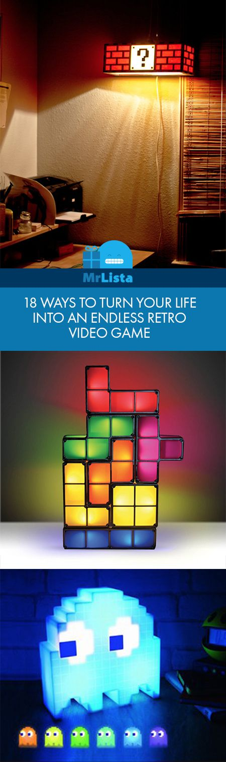 18 ways to turn your life into an endless retro video game!