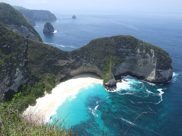 Nusa Penida, Bali, Indonesia... you may also want to consider visiting here... very close trip from p. bai