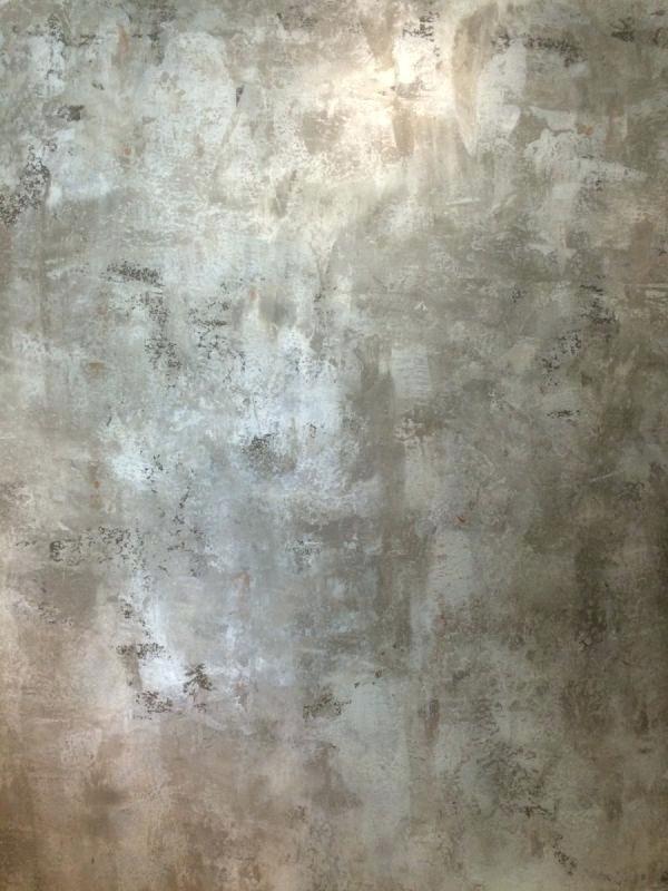Half Bath Silver Paint Walls Faux Painting Techniques Faux