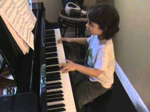 Jacob Velazquez playing a piece composed by Muzio Clementi - YouTube