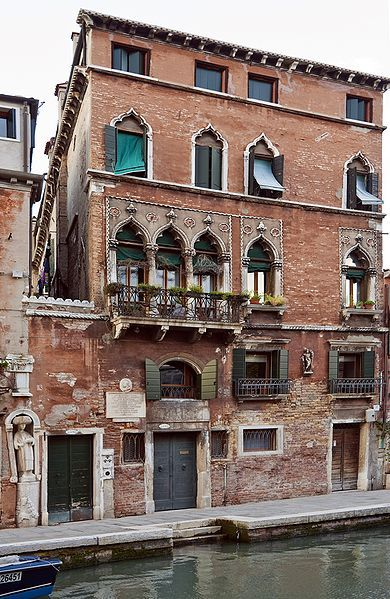House of Tintoretto by Didier Descouens, wikipedia #Venice