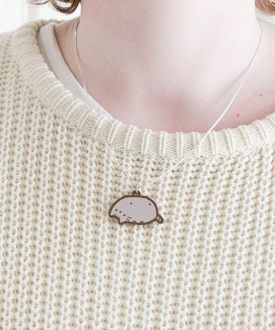 Lazy Pusheen Necklace
