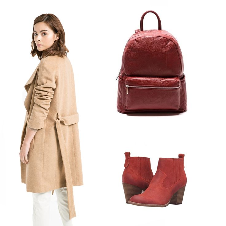 #OOTD: This weekend we reccomend a walk in the park with this #RobertaM leather backpack.