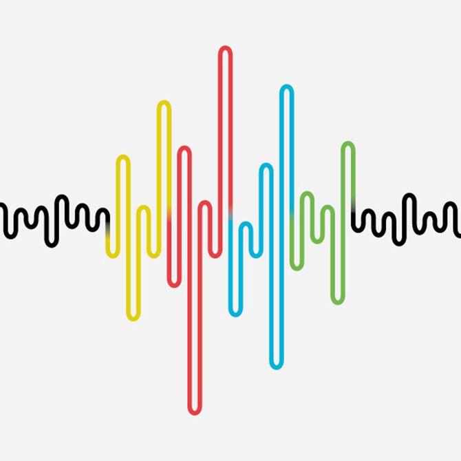 15 best waveform images on Pinterest Logo inspiration, Sound waves