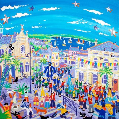 Falmouth Oysetr Festival Parade @The John Dyer Gallery
