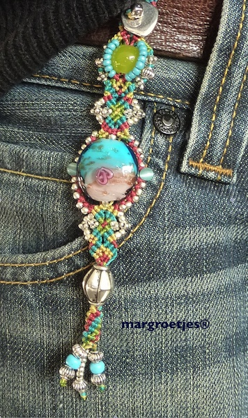 Just some decoration for bags or jeans! I made many of them