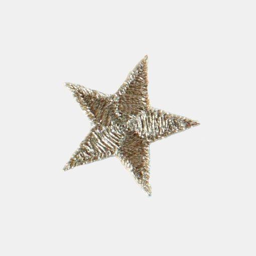 Patch golden star 2,6 x 2,6 cm