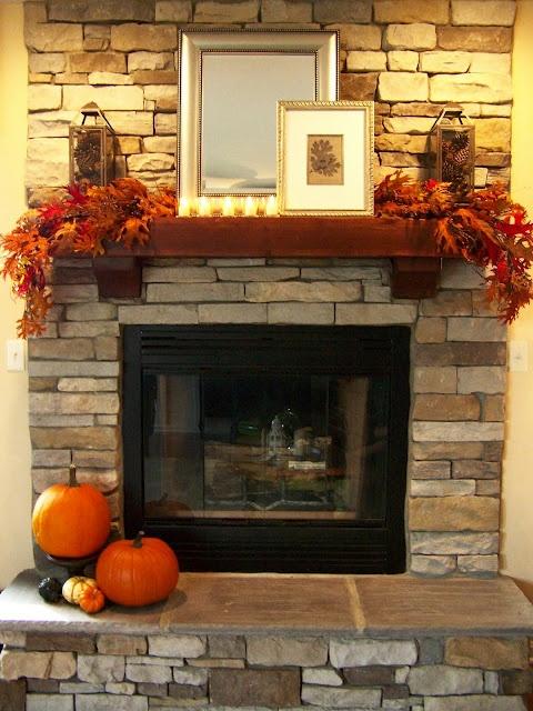 Fall Fireplace Mantel Decorating Ideas: 25+ Best Fall Fireplace Decor Ideas On Pinterest