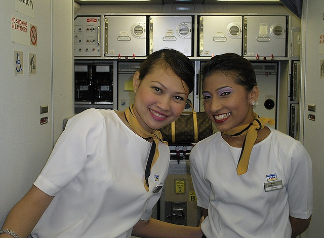 Tiger Airlines flight attendants