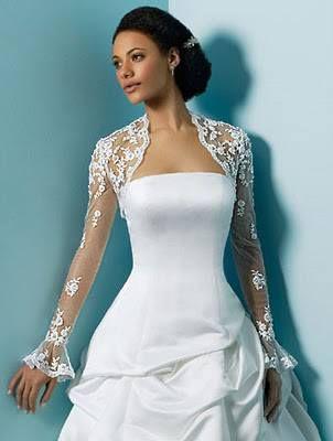 Vestido de Novia con Torera ;)