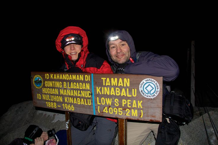 Around 06:15am, before sunrise what an achievement, we made it, 4095m.