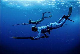 Deep sea Spear fishing