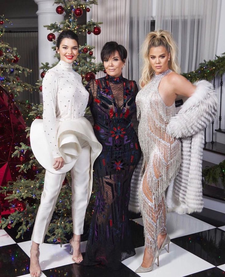 78 best Kardashian/Jenner Christmas Eve Party 2017 images on ...