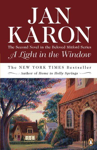 Book 2 A Light in the Window (The Mitford Years) by Jan Karon, http://www.amazon.com/dp/B0031PXE8G/ref=cm_sw_r_pi_dp_R6u5pb0FDY0Y0