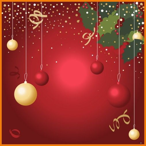 blank christmas flyer template holiday backgrounds for