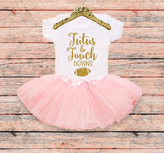 Hey, I found this really awesome Etsy listing at https://www.etsy.com/listing/470867457/baby-girl-football-outfit-tutus-and