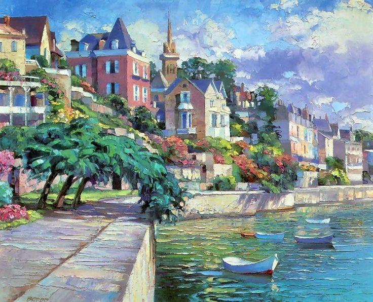 Mediterrane Gemälde 76 besten howard behrens bilder auf kunstdrucke