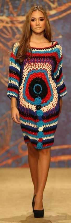 Crochet dress Liza Panait