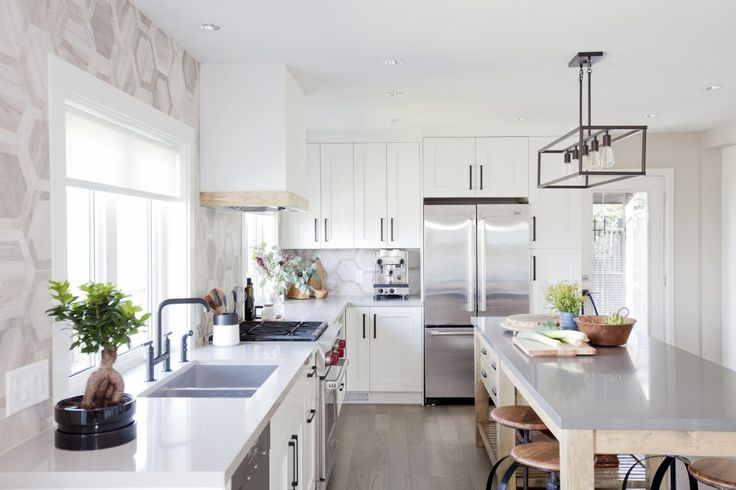 Love it or list it vancouver Kitchen. Schaub and Company cabinet pulls and hardware