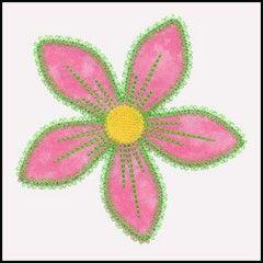 GO! Fun Flower Freebie Embroidery by V-Stitch Designs (VQ-FFF)