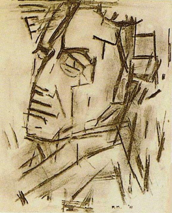 Piet Mondrian - Autoritratto - 1912