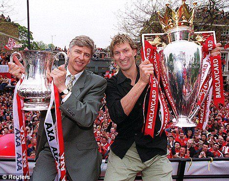 Double again in 2002 between the Premier League and the FA Cup.  FA Cup Final 2002 - Arsenal 2 - 0 Chelsea.