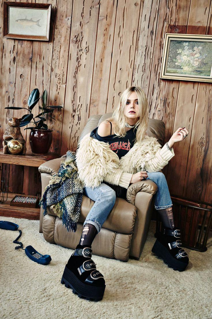 Elle Fanning - NYLON November 2015