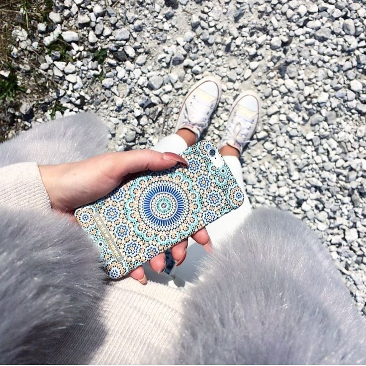 Moroccan Zellige by lovely @eeemz - Fashion case phone cases iphone inspiration iDeal of Sweden #Mosaic #blue #fashion #inspo #iphone #pattern #tile #summer #Marrakech