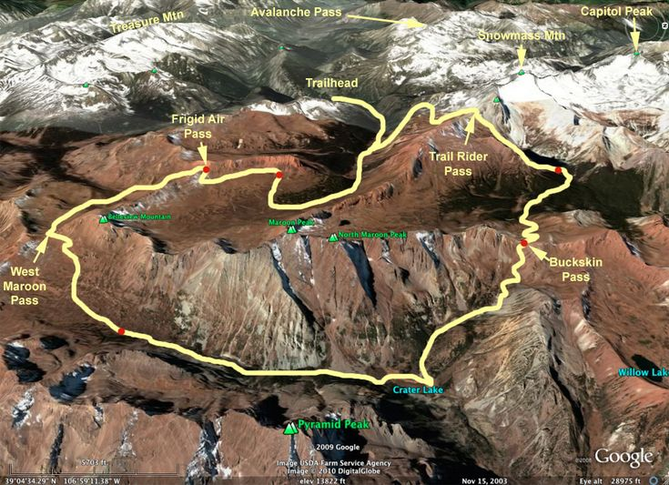 Maroon Bells Backpacking Trip – Part 1 of 3 | Mountains and Miles