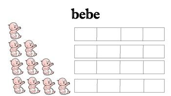 Spanish Bar Graphs for Dual Immersion #DualImmersion #Spanish #earlylearning #Math #Spanishworksheets #toddlermath #preschool #ChildDevelopment #MathActivity
