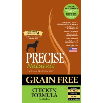 PRECISE DOG DRY - PRECISE GRAIN FREE CHICKEN DOG - 5 LB - ANF Pet, Inc. - UPC: 72693362406 - DEPT: OTHER PET FOODS