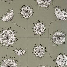 Dandelion Mobile - French Grey with White