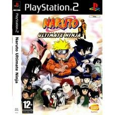 Naruto Ultimate Ninja PAL for Sony Playstation 2/PS2 from Bandai Namco Games (SLES 54163)