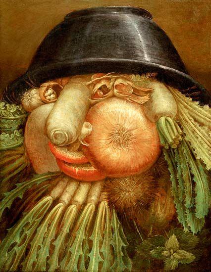 Giuseppe Arcimboldo-Der Gemüsegärtner