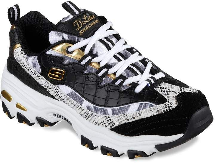 Skechers D'Lites Runway Ready Women's Shoes | Canvas shoes
