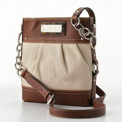 Chaps Cross Body Bag Kohls