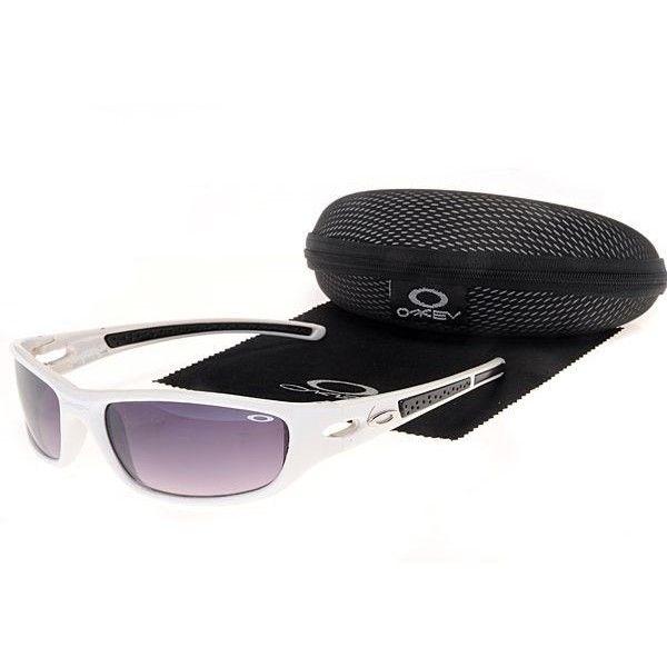 Oakley Women\u0027S Sunglasses Purple Lens White Frames-30438