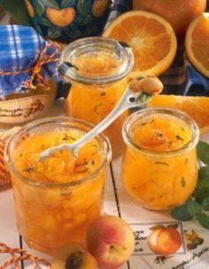 Das Rezept für Aprikosen-Orangen-Konfitüre mit Minze und weitere kostenlose Rezepte auf LECKER.de