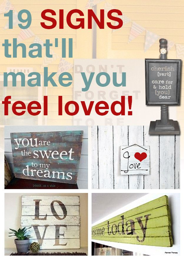 19 SIGNS that'll make you feel loved!