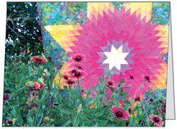 Indian Firewheel Quilt card