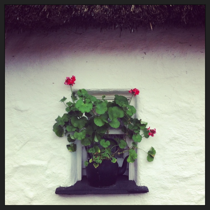 Old Irish Window