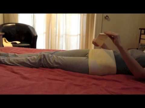 How to put on Abdomend Support Binder while lying down. http://www.abdomend.com.au/