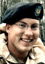 Army SPC Aaron J. Sissel, 22, of Tipton, Iowa. Died November 29, 2003, serving during Operation Iraqi Freedom. Assigned to 2133rd Transportation Company, Iowa Army National Guard, Centerville, Iowa. Died of wounds sustained when hit by enemy small-arms fire during combat convoy operations in Haditha, Anbar Province, Iraq.