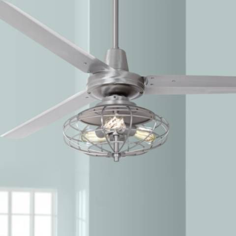 Enjoy A Powerful Refreshing Breeze With This Industrial Style
