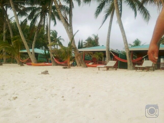 Bella Beach Bungalows. We stayed across the street with easy access to the beach.